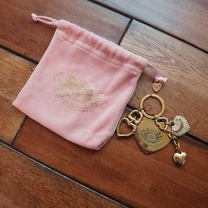 🛍3 for $10! Juicy Couture keychain